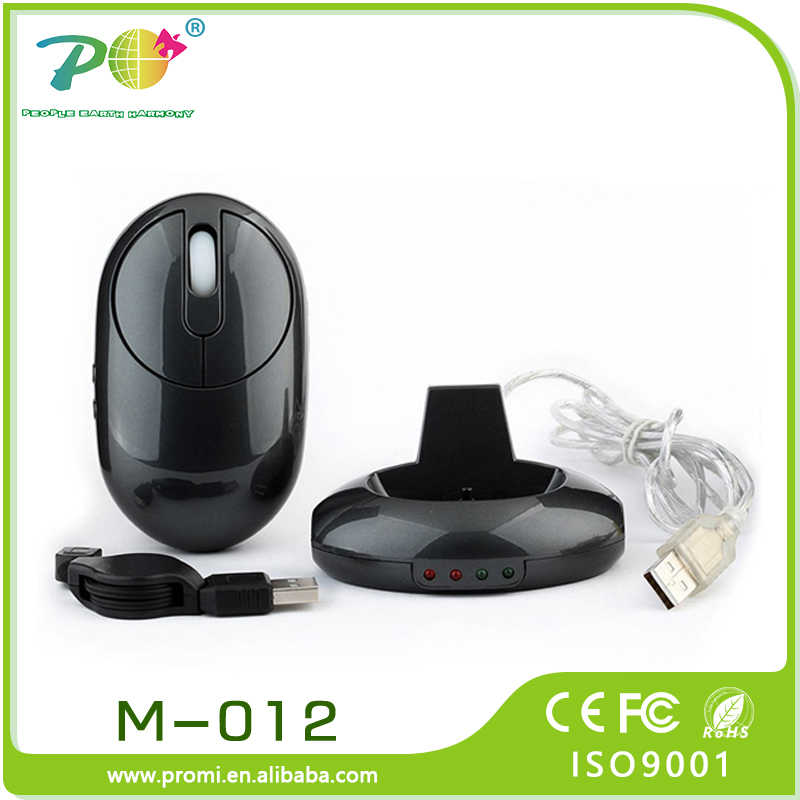 High Quality Vertical Wireless Optical 2.4g Driver Wireless Usb Mouse With Rechargeable Usb Cable