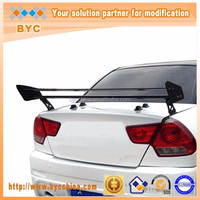 Dreamer Car Universal Aluminum Rear Spoiler 135cm Double Deck with Click-on 7 Inch Stands