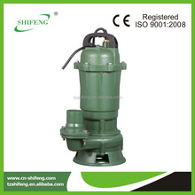 Shifeng brand submersible sewage grinder pump