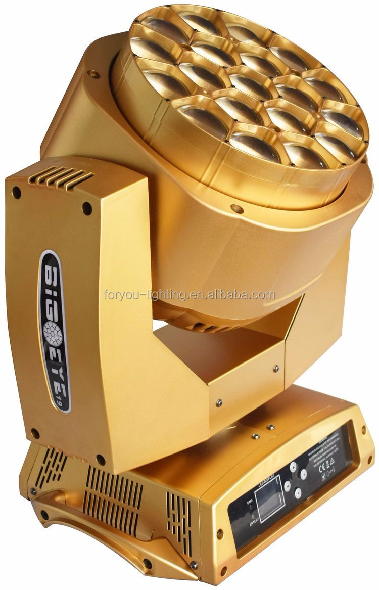 Beam Wash Zoom 3in1 19x15Watt 4-IN-1 Bee Hives LED Moving Head Light ( Golden )-3.jpg