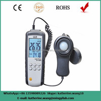 PC interface digital light meter luminous flux meter