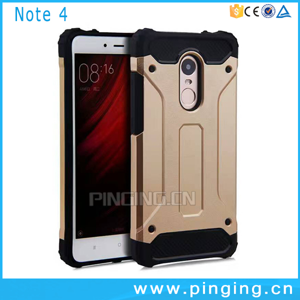 Dual Layer Impact Armor Case For Xiaomi Redmi Note 4 Back Cover,For Xiaomi Redmi Note4 Case