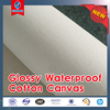 Glossy Waterproof 100% cotton printing canvas 300g 340g 360g 370g 380g