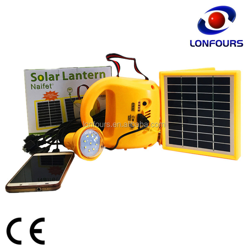 best selling high efficiency solar rechargeable lantern with low price
