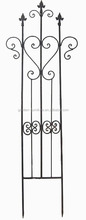 short metal garden fence outdoor lawn edging decorative iron fence,cheap fencing,cheap fence panels