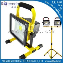 LED Light Source and IP65 IP Rating wireless carrying frame portable led flood light