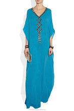 Arabic Caftan Abaya Farasha - Embroidered High Fashion Printed African Women Kaftan Style abaya jilbab dubai kaftan dress k462