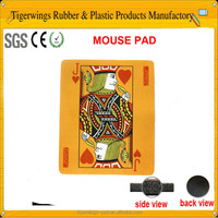 Poker Cards Mouse Pads,Comfortable Computer Mouse Mat,Cute Gaming Mouse pad