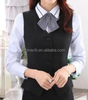 adies bank uniforms/ladies office uniform/The bank work vest, hotel service, beauty tools vest