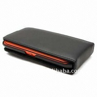 Flip leather case for Nokia N9