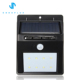 Waterproof Garden Lamp 8 LED PIR Motion Sensor Outdoor Wall Solar Panel Light with Motion Activated Auto On / Off
