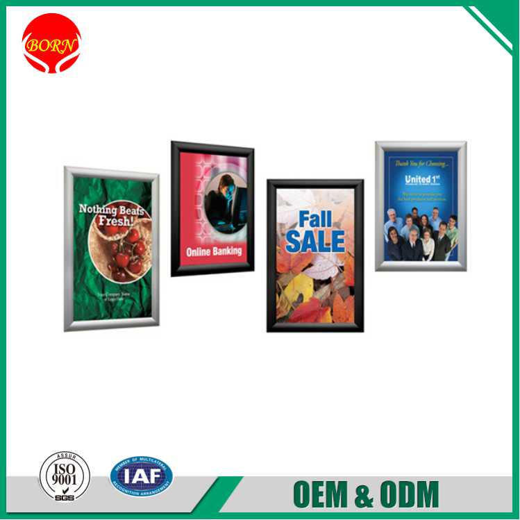 Wholesale display sign A1 snap poster frame