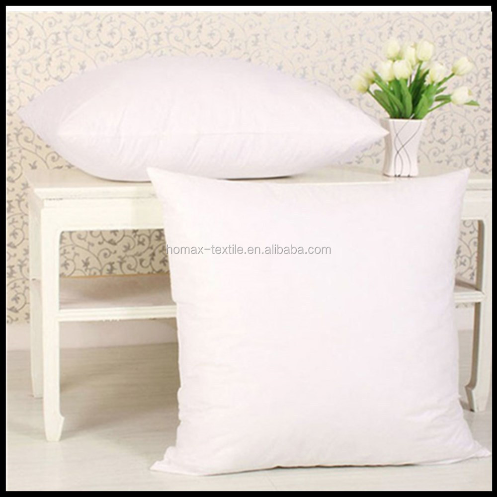 100% polyester filled white car seat neck pillow