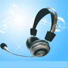 hot selling 40mm referee sport usb headset with microphone