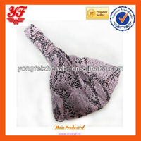 Vogue Snake fur pattern for head hair band wholesale