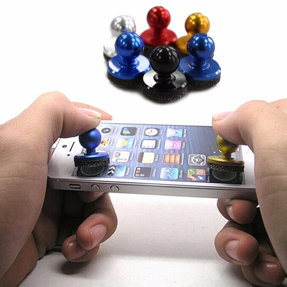 2Pcs Small Size Stick Game Joystick Joypad Touch Screen Mobile phone Mini Rocker