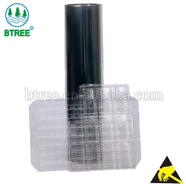 Btree Clear Antistatic Plastic Thermoforming PET