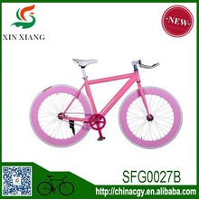 2015 fancy design high quality 26 inch gear fixed bike for sale