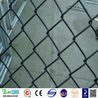 pvc coated chain link fence for playground and gardens