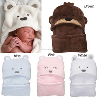 2016 wholesale alibaba 100% cotton kids baby hooded towel