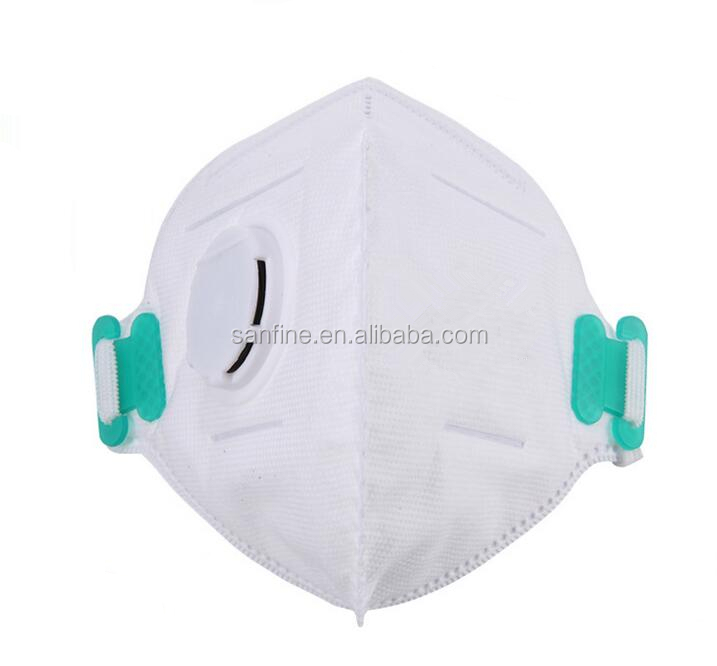 Cone N95 safety dust face mask with or without valve