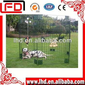galvanized big the dog kennel for dog run