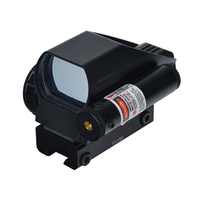 HD 103BA Red Green Dot Sight Scope Reflex Sight 1X22X33 with Red Laser