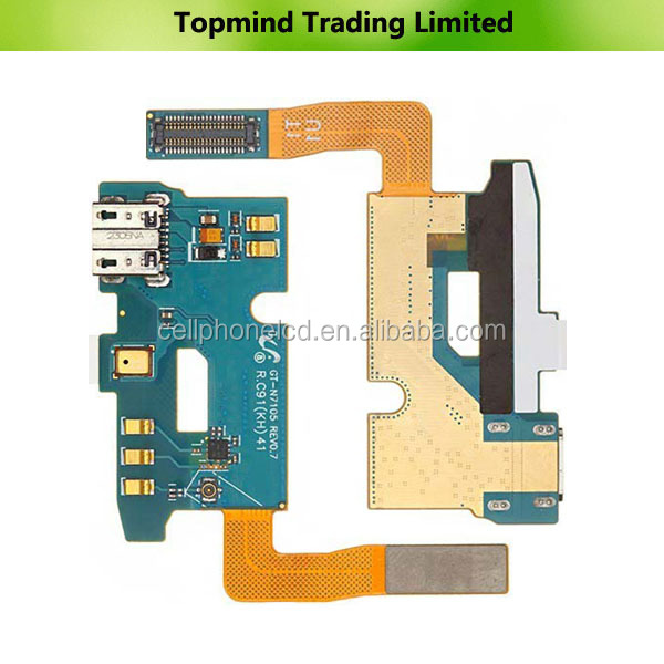 Cheap Price Dock Charger Charging Port Flex Cable for Samsung Galaxy Note II LTE N7105