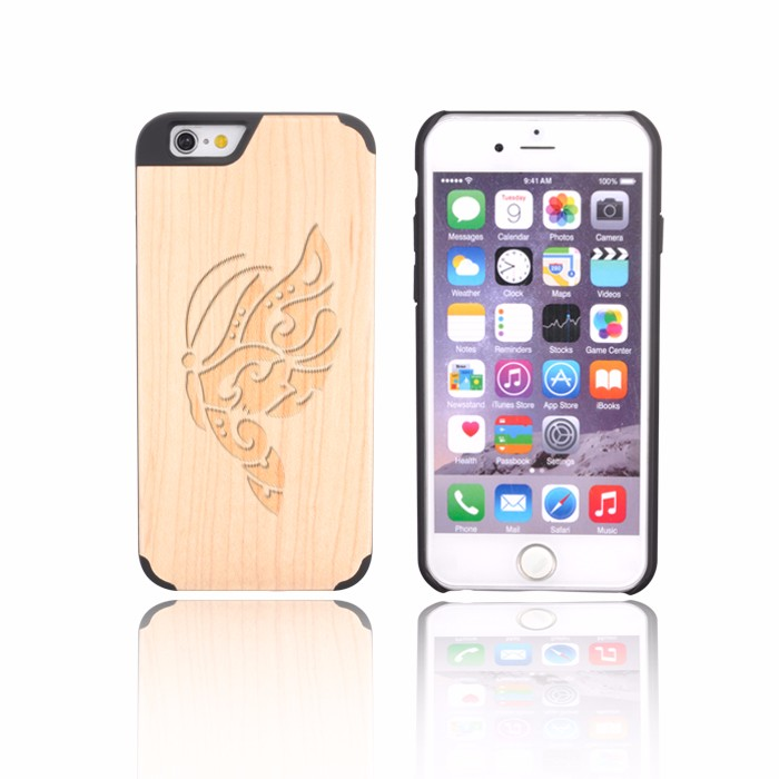 Customized Logo Zebra Wood For Iphone 4 Phone Cases