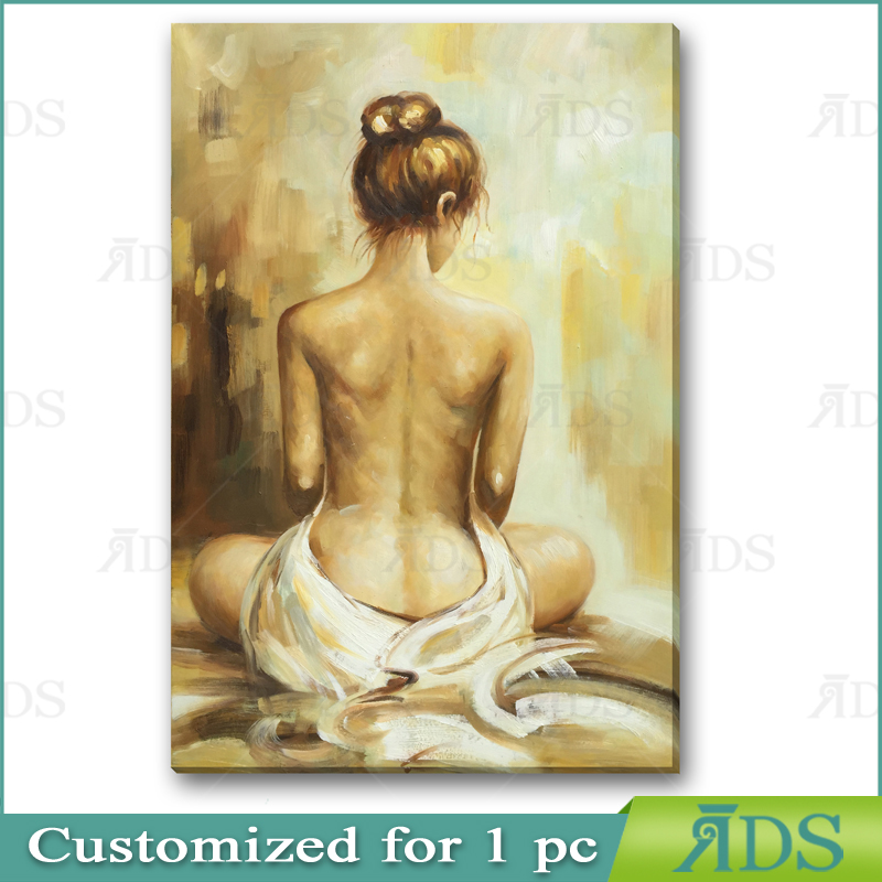 Oil Painting nude art painting in 24x36 size chain store wall art