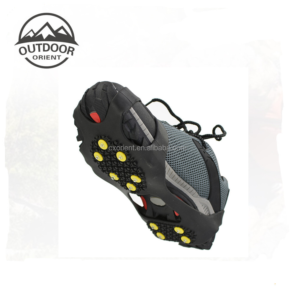 Traction Cleats for Ice and Snow- Quickly and Easily Grips Over Footwear