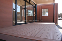 lightfast wholesale Eco friendly unfading wood plastic composite/wpc decking