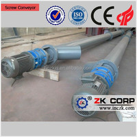 Tube type screw conveyor for bulk materials conveying