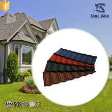 glazed blue color steel thermal insulation aluminium roof tile for building construction