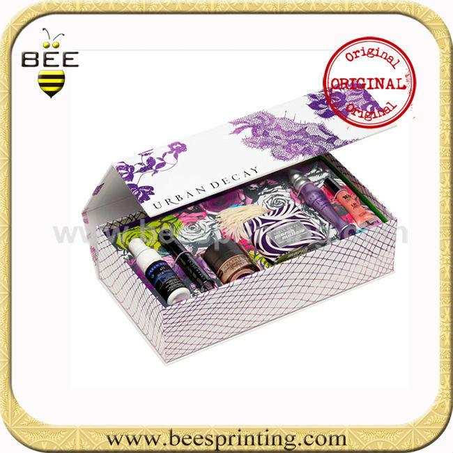 acrylic make up organizer safe and effective OEM good design packaging box