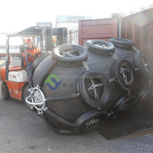 D1.5m x L3.0m floating marine rubber fender for cruise ships for sale