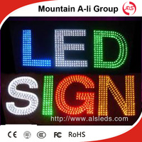 Perforation Outdoor LED Channel Letter Sign Board