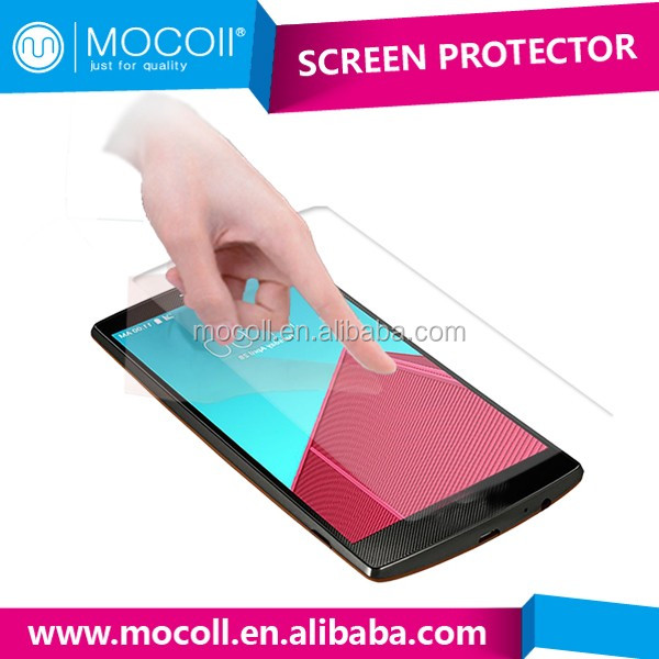 Hot sell Anti-spy Anti-shock Anti-scratch Anti-fingerprint screen protector with design For LG G4