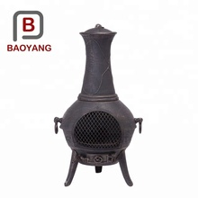 China supplier wood burning antique cast iron stove