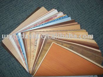 Floor and furniture decorative paper