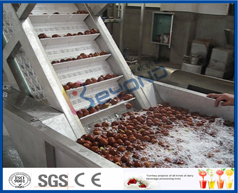industrial full automatic liquid syrup extraction from dates processing machine