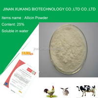 Feed Additive Garlic Plus Allicin Powder 25% for fish and poulty