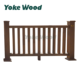 Wood Plastic Composite Decking Used Handrails Terrace Railing Designs Balcony WPC Guard Railing