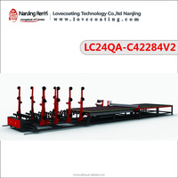 cnc glass cutting machine, multi-workstation automatic loading, breaking table