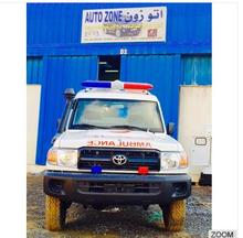 High Quality Toyota Land cruiser TLC HZJ 78 series 4x4 Ambulance