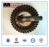 Custom crown wheel and pinion gear made by whachinebrothers