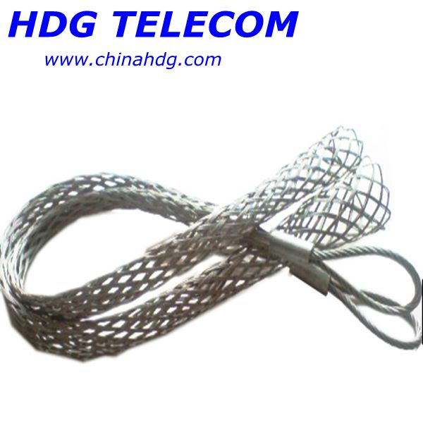 Heavy duty lifting sock strand grip for cable and tube