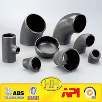 ASTM A234 WPB ANSI B16.9 STD PIPE FITTINGS