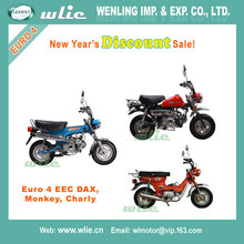2018 New Year's Discount eec euro iii street motorcycles 17'/17' 4 scooter certification DAX, Monkey, Charly