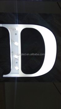 High Brightness 3D LED Channel Letter Outdoor Signage